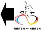 Haren-Haren-route-pijlen-linksaf