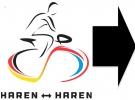 Haren-Haren-route-pijlen-rechtsaf
