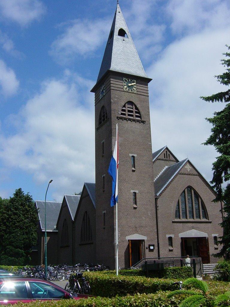 Sint-Willehaduskerk passeer je tijdens Haren-Haren