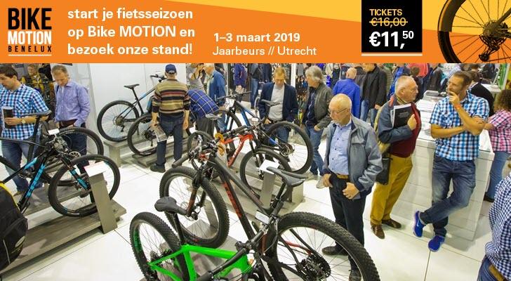 Bestel hier tickets en start je fietsseizoen op de Bike Motion Benelux