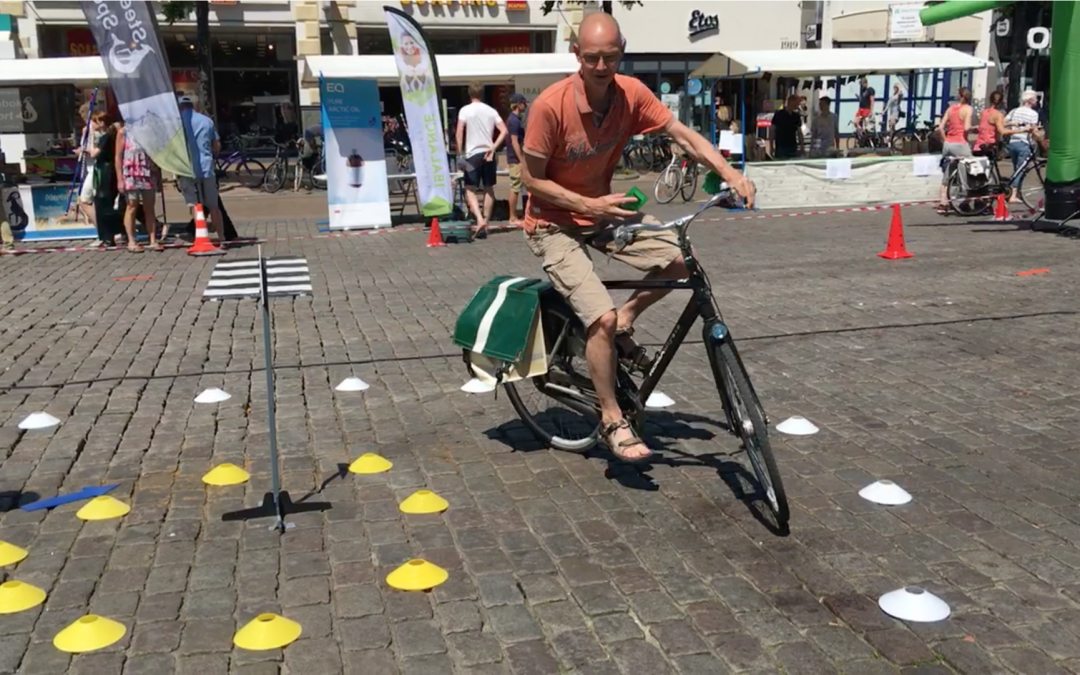 Speciaal MONO-fietsparcours bij Haren-Haren