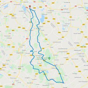 Haren-Haren 2021 105km route
