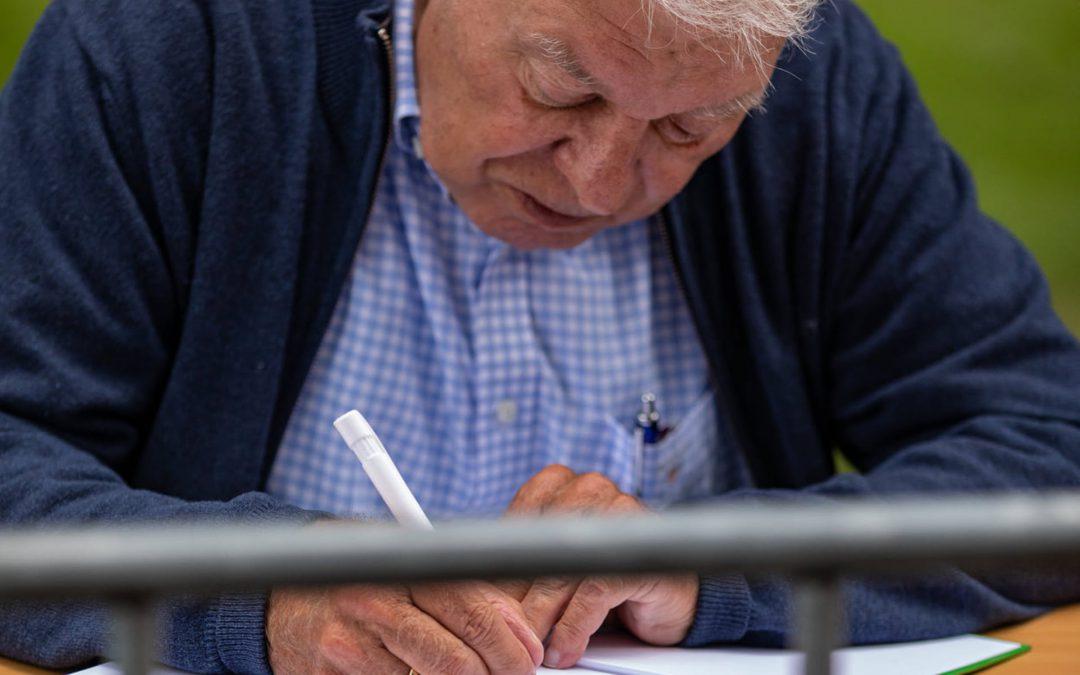Winnaars gesigneerd boek '100 Jaar Topsport in Stad'
