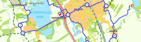 Fietsroute Haren De Groene Parel van het Noorden